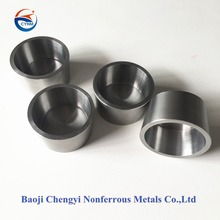 Best quality tungsten crucible for melting iron