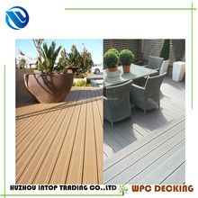 30 x140mm good price wood plastic composite decks wooden texture wpc balcony covering