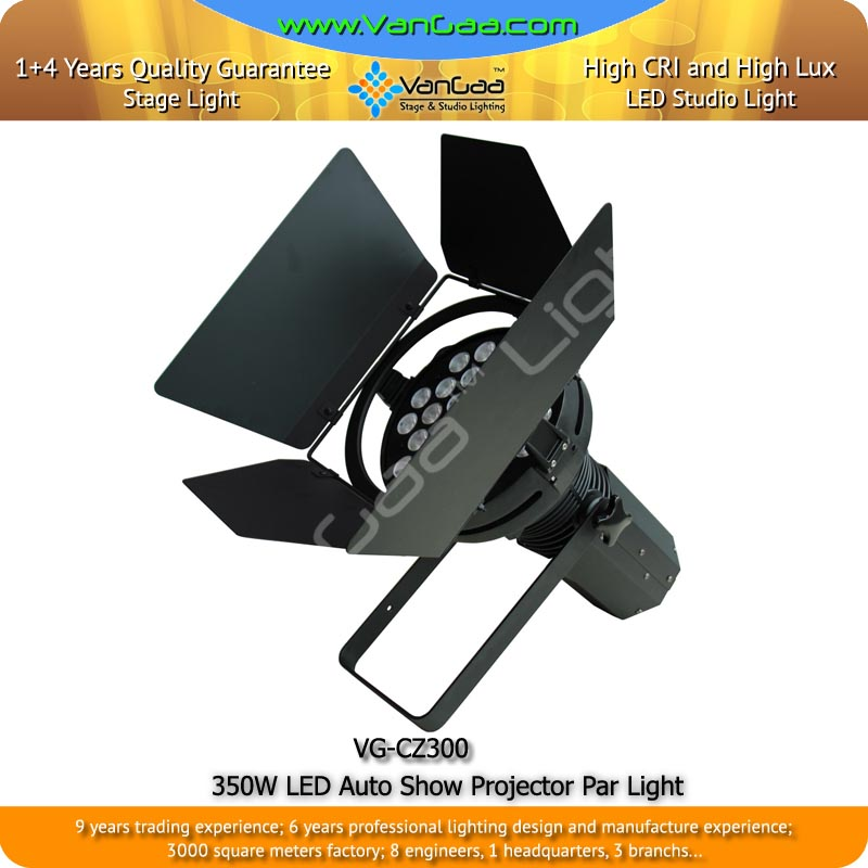 350W LED Auto Show Projector High Brightness Auto Show Long Lifespan Light