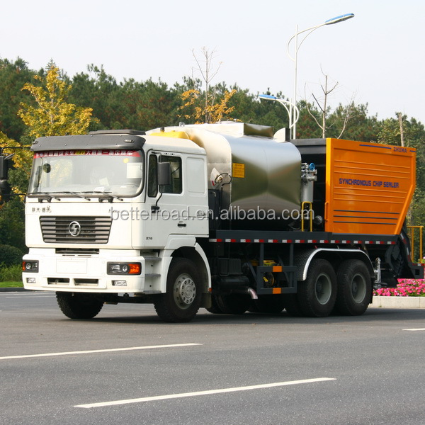 6x4 Rubber Asphalt Layer truck,asphalt trucks sale,Asphalt Synchronous Chip Sealer