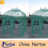 Garden decoration outdoor used cast iron gazebo NTIG-277A