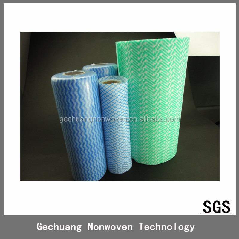 new products 85g High Quality spunlace nonwoven industrial wiping paper rolls