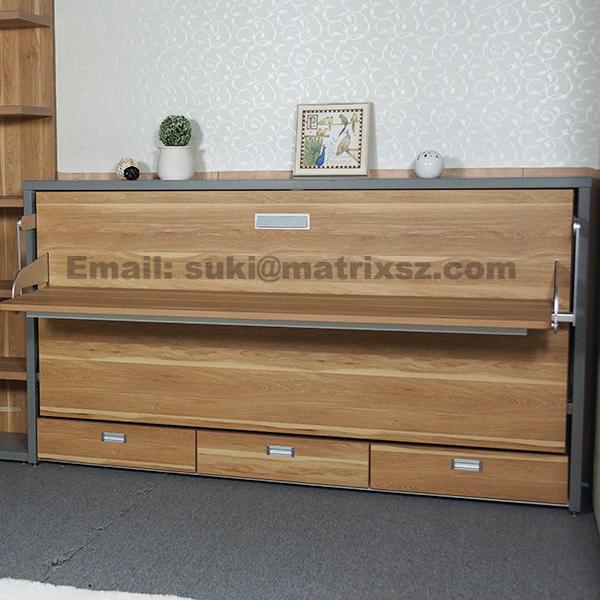 Horizontal Murphy Bed Murphy Bed with puter Desk