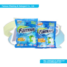 FAMOUS 500g activity enzyme efficient laundry detergent powder formulation