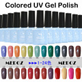 2014 HOT nail art Colored UV Gel Polish,15ml/1KG soak off/ON-Step soack off color uv gels,120 fashion colors