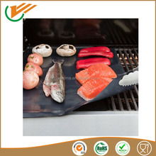 2015 new products PTFE Non-stick BBQ hotplate liner 40*50cm suitable for all kinds of grills