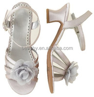 fashionable kid girls high heel sandals shoes