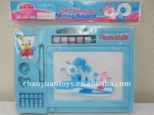 2011 hot cartoon plastic writing board with pen ED84258014