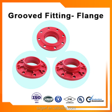 tongue and groove flange