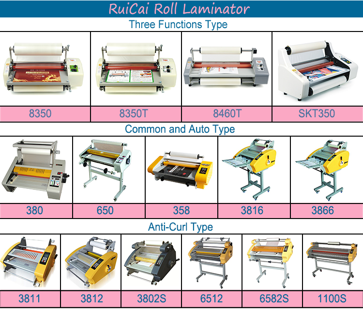 Paper Laminating Machine Office Laminating Machine Cold Roll Laminating Machine