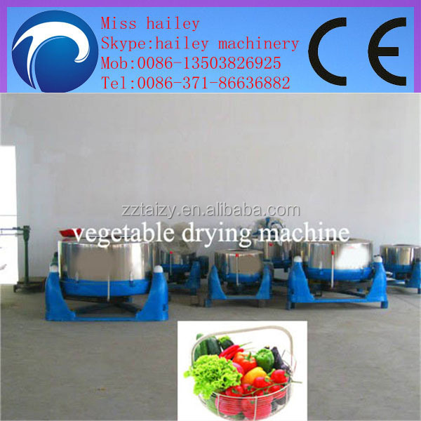 vegetable and fruit dewater machine fruit and vegetable slice machine