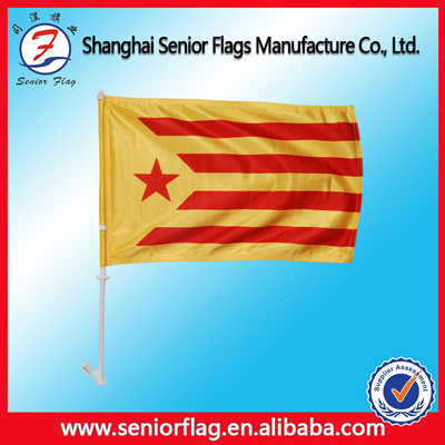 For publicity or celebration or promotional project.Usage car hood cover flag