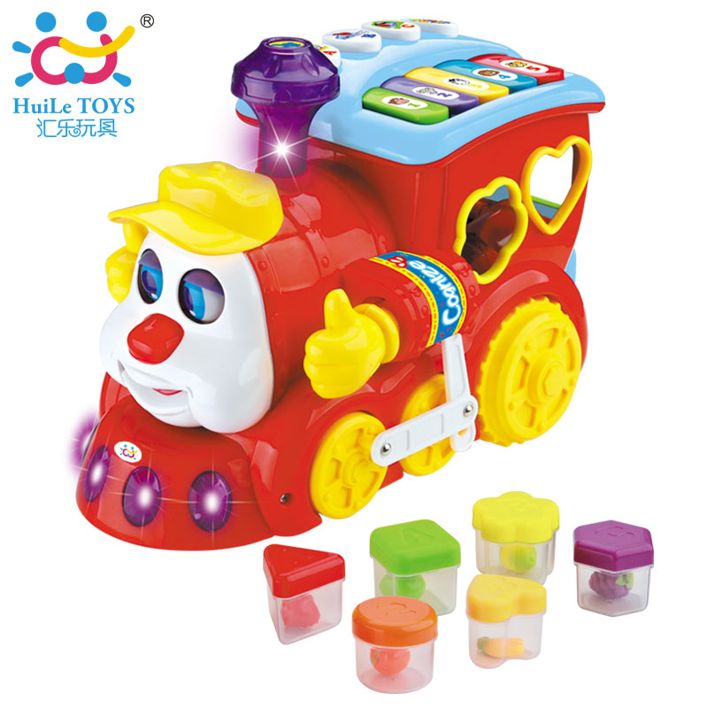 High Quality Early Learning Battery Operated Toy Train