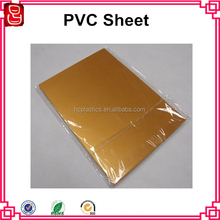Gold Card material no laminating inkjet printable pvc sheet