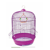 Chinese Powder coated small portable bird cage