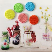 [Feng Xi] new creative cloth clothes patch affixed stickers trumpet fashion pop colorful circles