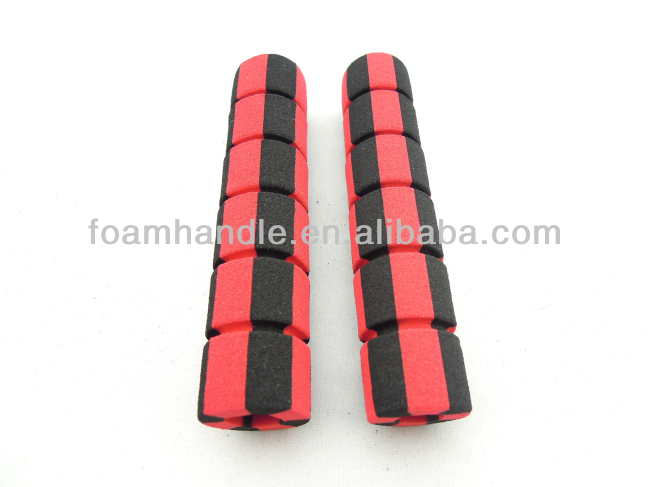 Solid foam rubber cylinders