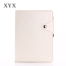 Luxury tablet case with fancy and delicate appearance leather folio tablet case for iPad 5