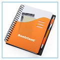 Dongguan stationery Manufacturer spiral Notebook with pen