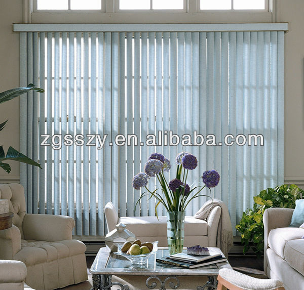 Indoor Sunscreen motorized/electric/manual vertical blinds
