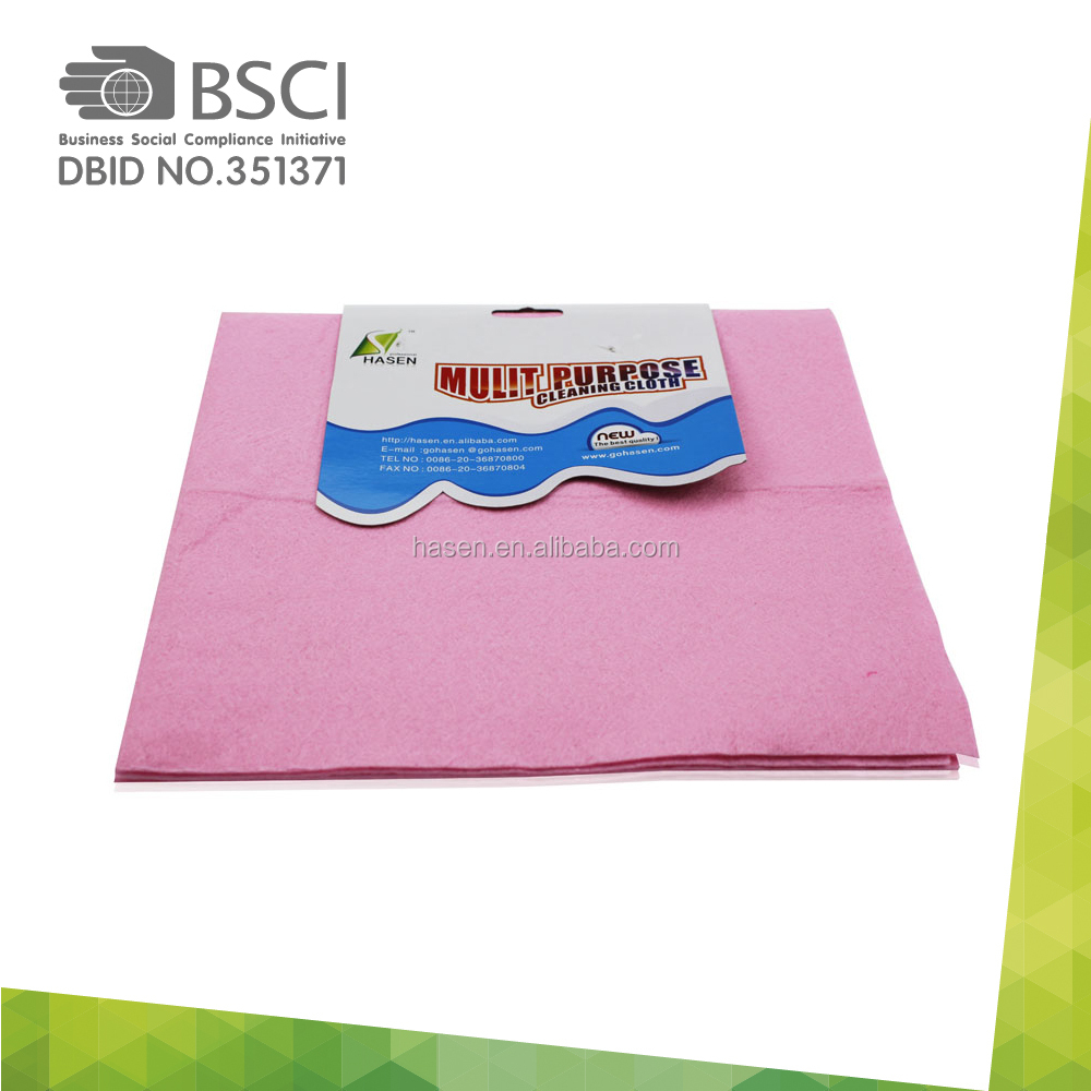floor cleaning mops disposable wipes made of needle punch nonwoven fabric 50x70cm floor cleaning