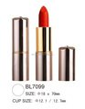 Golden Color Tube Ultra Matte Lipstick Private Label OEM