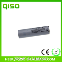 China supplier 18650CH 2250mAh 3.7v lithium polymer battery
