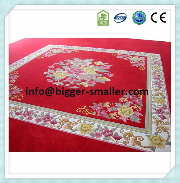 traditional Chinese wool carpet