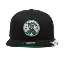Flat Embroidery Cheap Wholesales bottle opener snapback caps