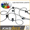 Factory supply commercial led festoon belt lights bulb string party lights decoration