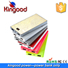 China products very small size 3D color printing 10000mah slim power bank dual usb rechargeable mobile phone battery charger