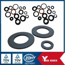 Factoy Customized NR, CR, SILICONE, EPDM, NBR, SBR Silicone Rubber Washer and Spacer