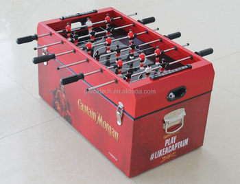 Fashion ICE Cooler Box with football table