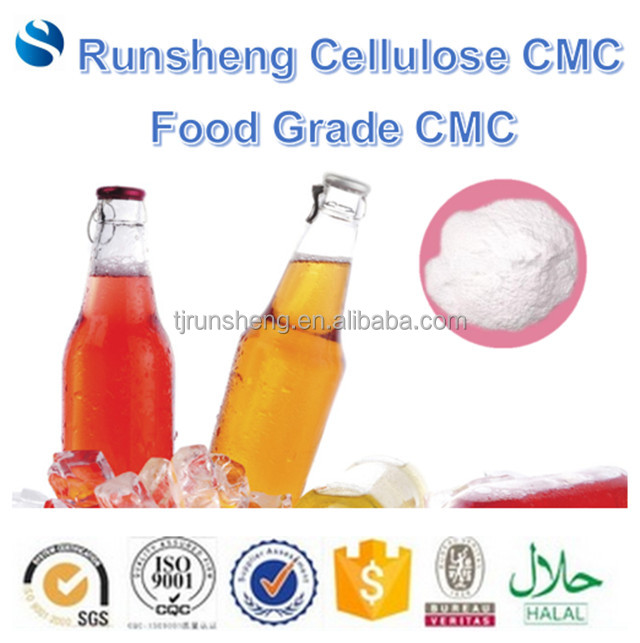 Sodium cmc food grade as thickener for beverages