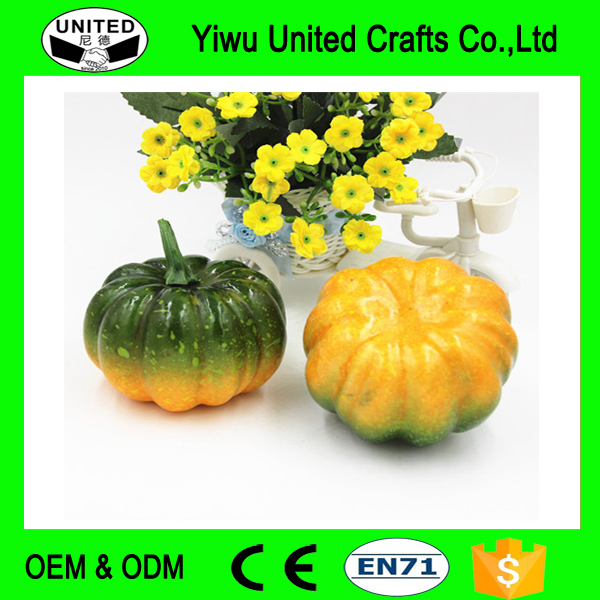 Atificial Pumpkin Factory Direct Selling Simulation Foam Pumpkin Halloween Pumpkin Model Farmhouse Hotel Decoration