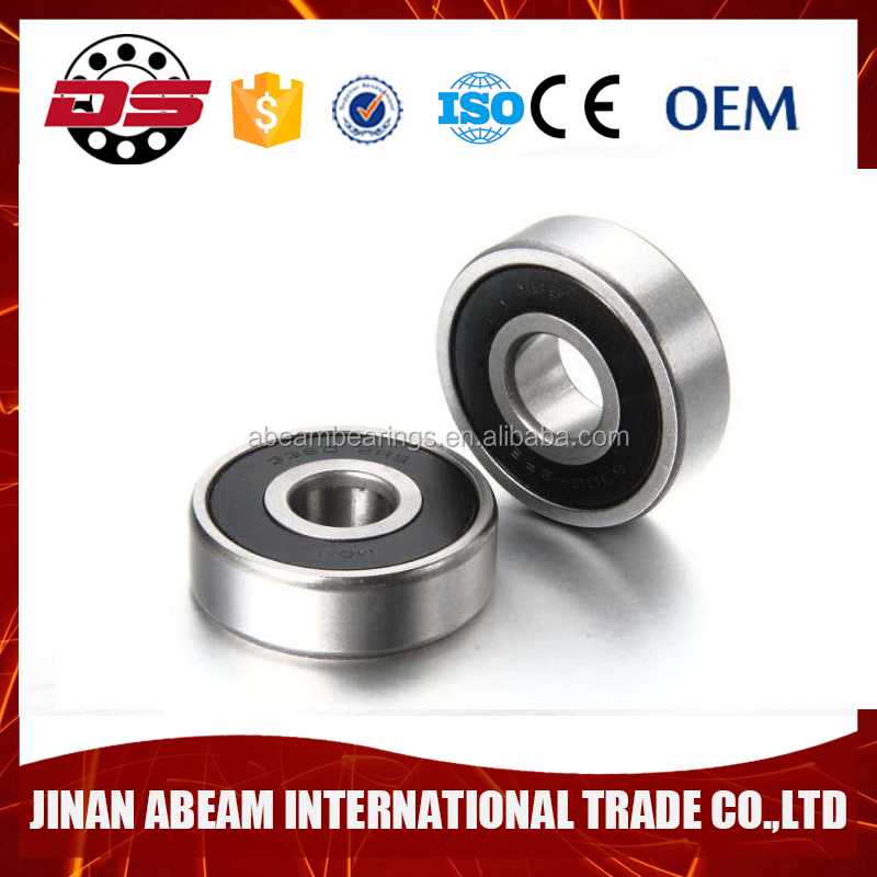 Hot sell 6204 2rs motorcycle deep groove ball bearing 6204