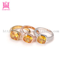 wholesale indian style engagement citrine rings