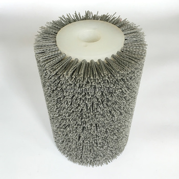 Industrial wood polishing abrasive roller brush for hot selling