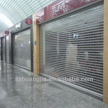 Commercial motorized roll up doors
