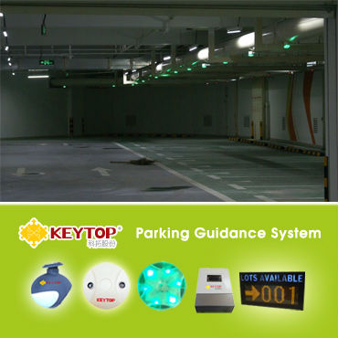 KEYTOP-Intelligent Parking Guidance System-traffic control and traffic guidance systems For Parking Lots