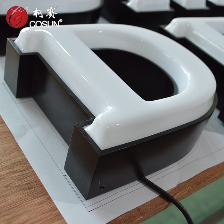 Bending Machine Making Acrylic face led channel letter sign