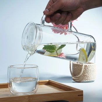 glass drinking cooler water jug food safety