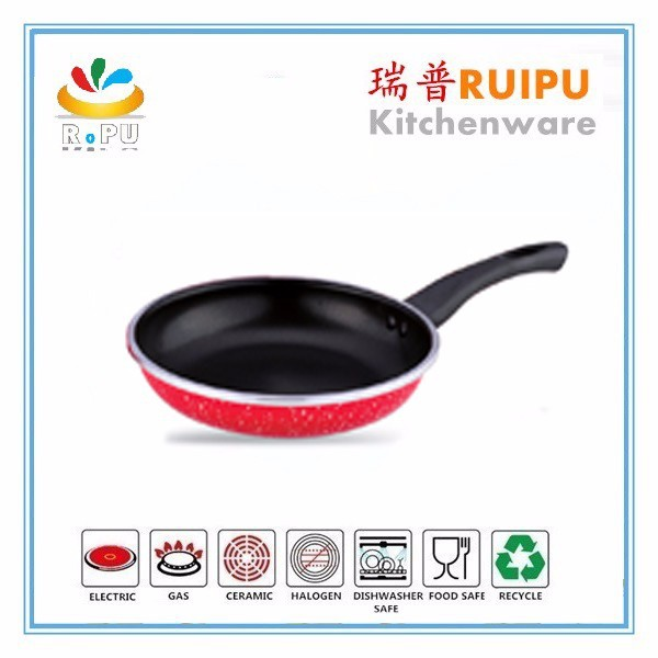 Hot Selling Soup Pot Aluminium sctatch-resistant fry pan conjunto de panelas die cast pot