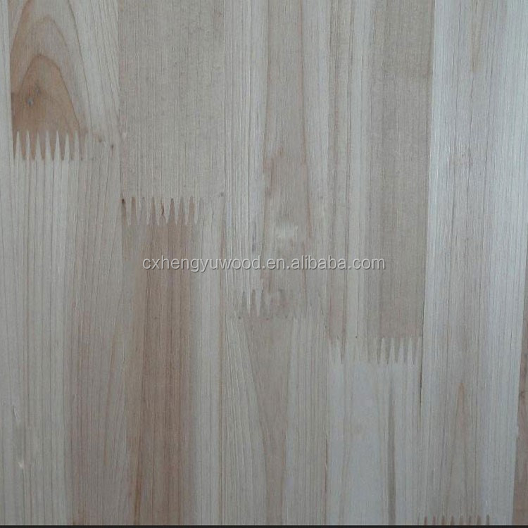 paolownia wood finger joint board for furniture