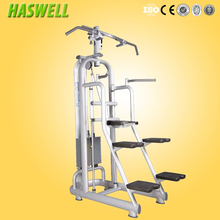 Easy assisted chin up dip station/dip dipping machine pull up bar