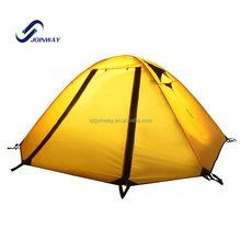 JWJ-006 outdoor gear aluminum pole ultralight backpack camping tent cot