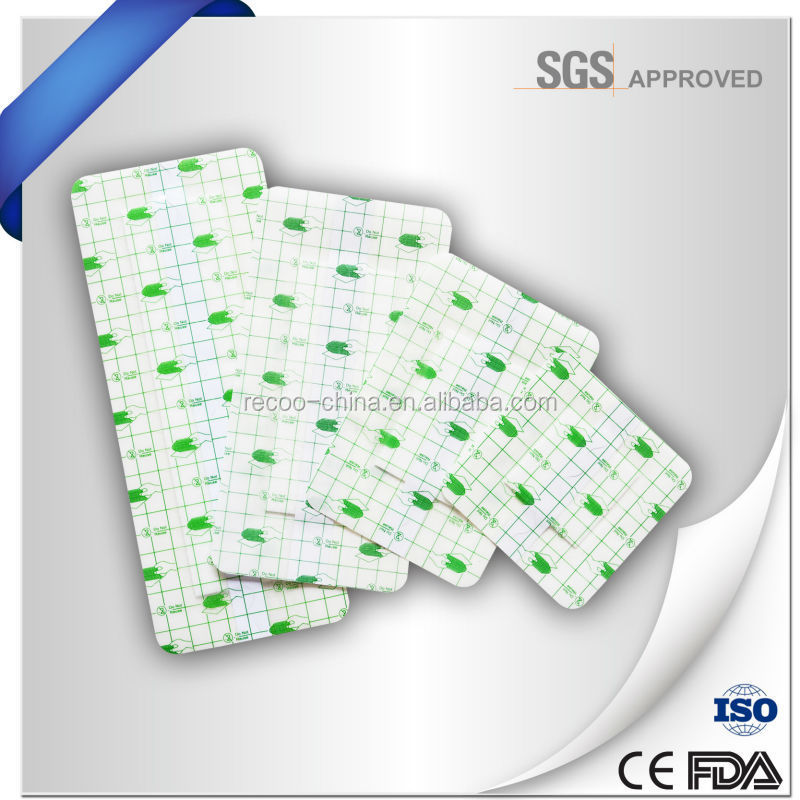 Changzhou Waterproof and transparent wound dressing, adhesive wound dressing