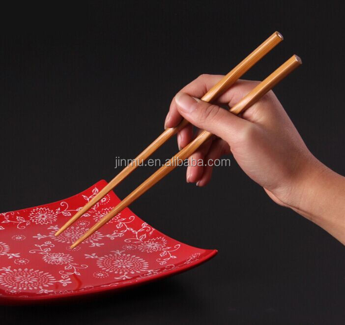 100% food grade bamboo chopstick with logo printed