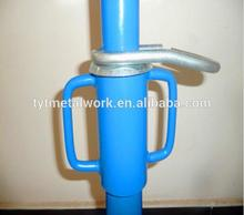 Professional construction scaffold coupler scaffolding models used steel props with high quality