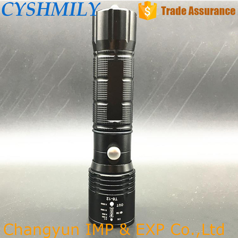 MX47 Self Defense security zoom torch tactical military wholesale fast track Led Flashlight